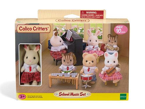Calico Critters - School Music Set