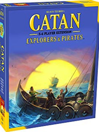 Catan Extension: 5-6 Player - Explorers & Pirates