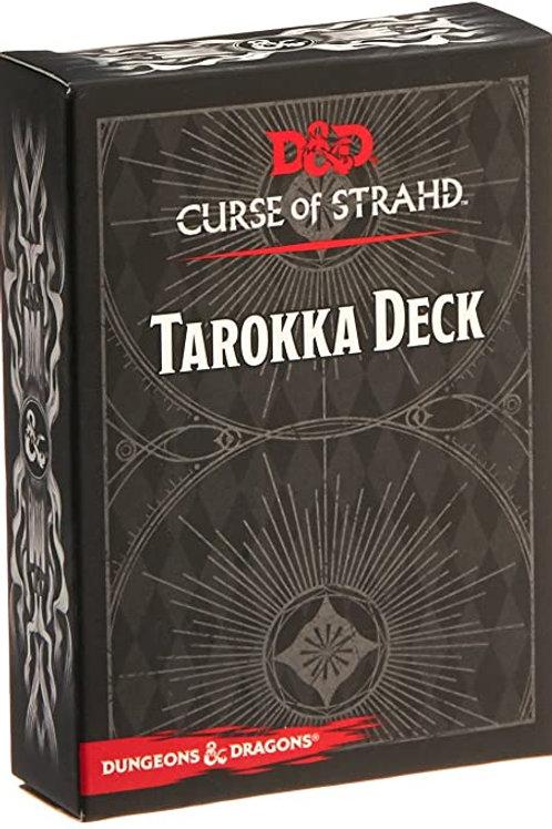 D&D - Curse of Straahd Tarokka Deck