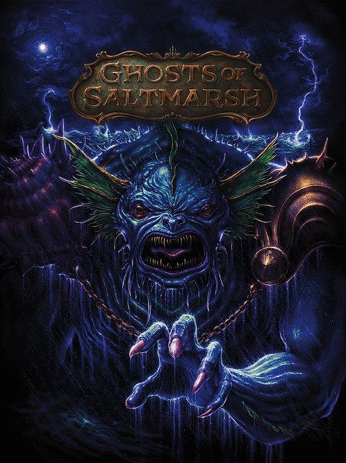 D&D - Ghosts of Saltmarsh Campaign Book