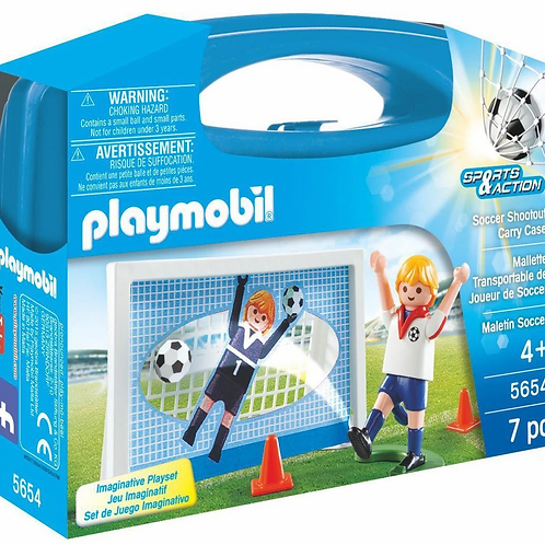 Soccer Shootout Carry Case Playset - 5654