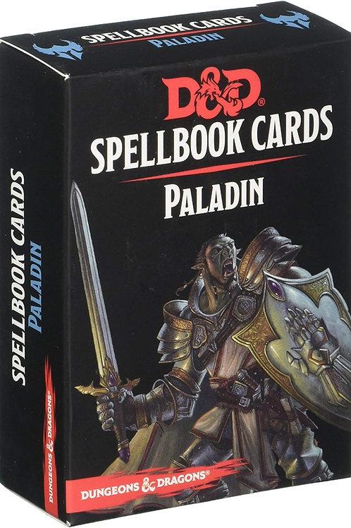 D&D - Paladin Spellbook Cards