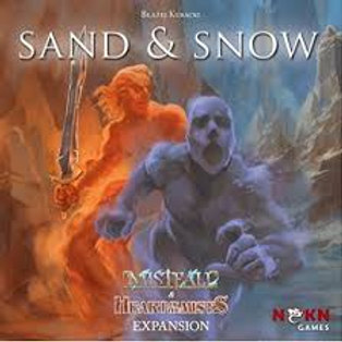 Heart of the Mists: Sand & Snow Expansion