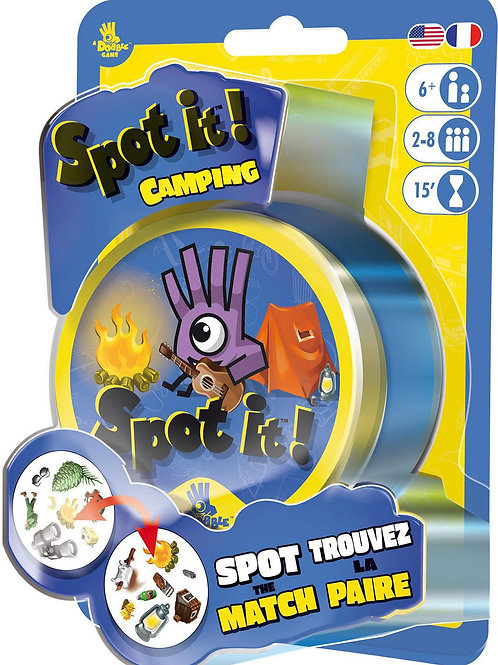Spot It!: Camping