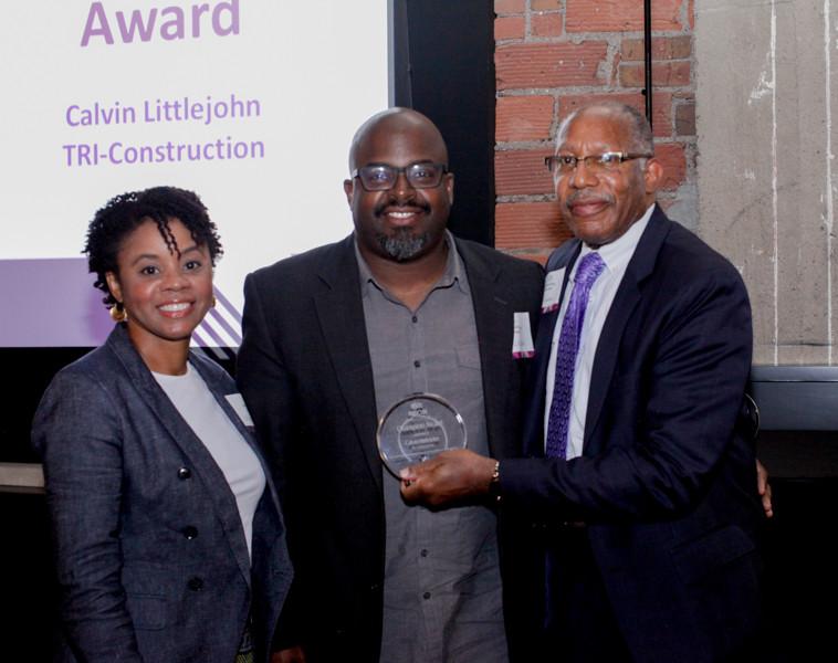 Champion Awardee, Calvin Littlejohn of TRI-Construction