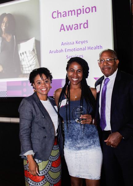 Champion Awardee, Anissa Keyes of Arubah Emotional Health Services