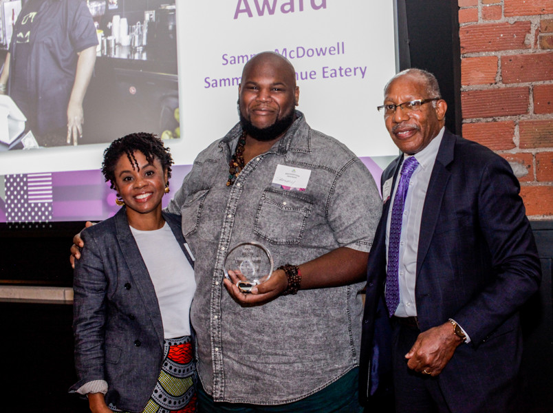 Champion Awardee, Sammy McDowell of Sammy's Avenue Eatery