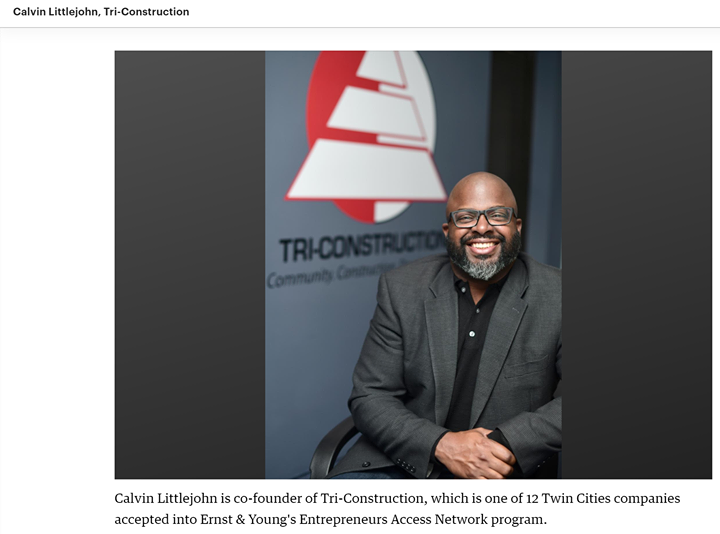 """""""12 Black- and Latino-owned Twin Cities firms picked for EY accelerator"""""""