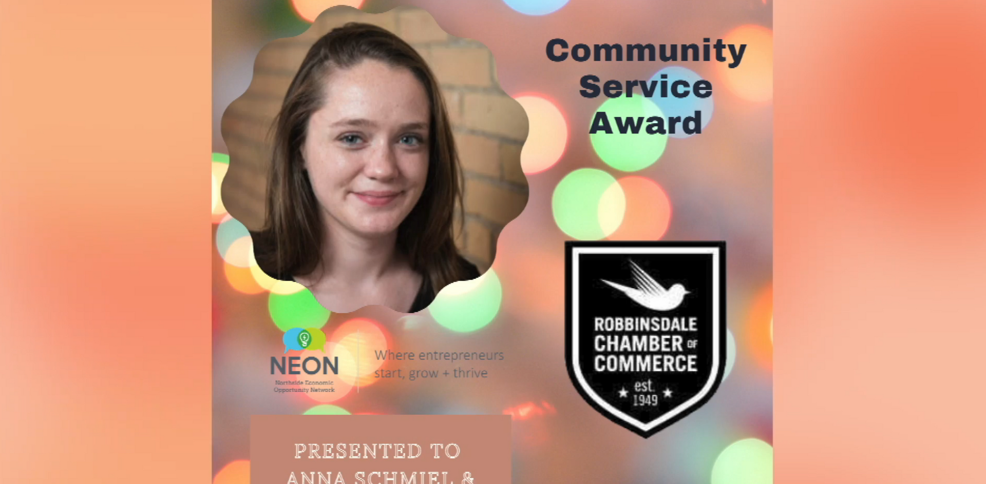 2020 Robbinsdale Chamber of Commerce Awards
