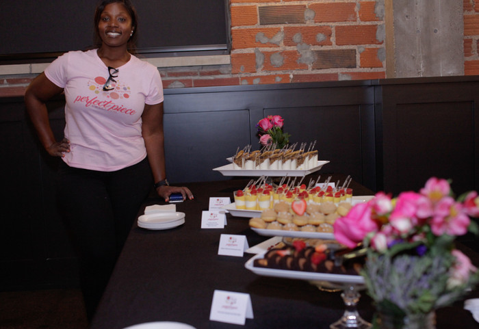 Event caterer, NEON client Melanie Lewis of the The Perfect Piece Sweets Co.