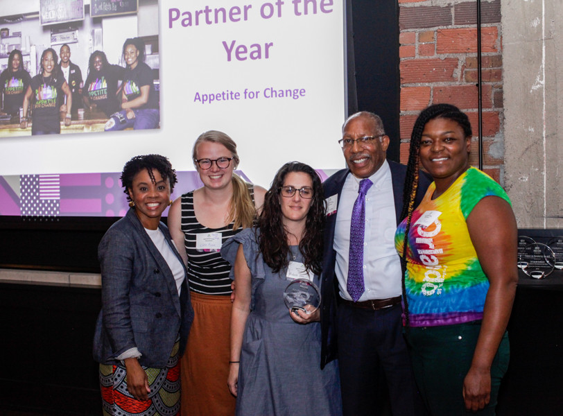 Partner of the Year Awardee, Appetite for Change (AFC)