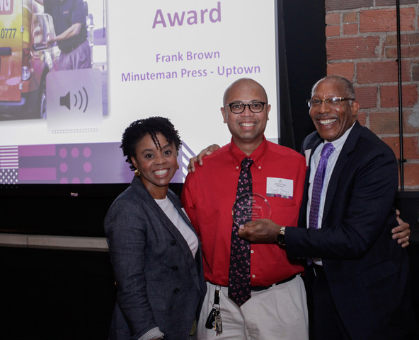 Champion Awardee, Frank Brown of Minuteman Press - Uptown