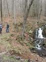CLT hike to Roaring Brook Falls