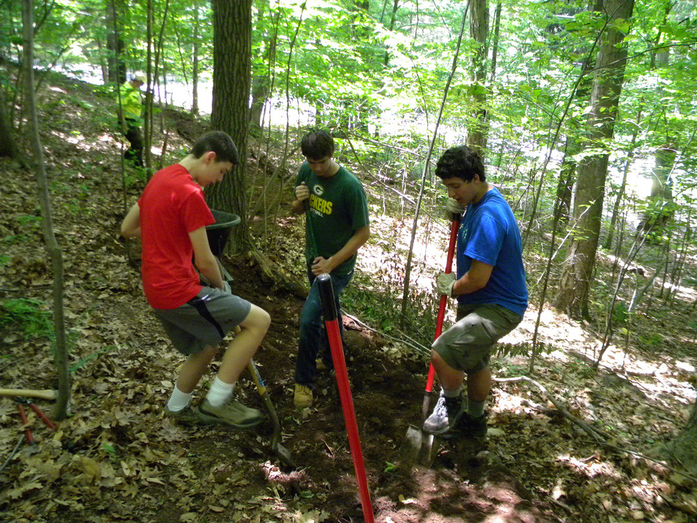 Brooke Preserve Eagle Scout Project