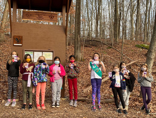 Cheshire Girl Scouts show off their Girl Power!