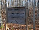 Brook Preserve sign