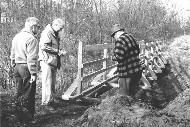 Jupp Bridge construction