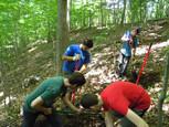Troop 92 trail work