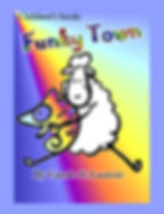 Children's books: Funky Town  This is a story about a lamb that runs away because he is different from everyone. Two divided towns will get together to help find the lost lamb. In the end, the lamb will teach a valuable lesson to everyone. Inside this beautiful Self-Esteem & Self-Respect book, you will find; sheep, seahorses, elephants, cats, chameleons, frogs and lambs.  It is a Children's growing up & facts of life book, with examples of diversity. It has a beautiful subtle way of bringing on the subject of LGBT, friendship and families, all in a perfect children's family life book.  Ages 4-8