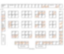 Spring Arts 2020 Vendor Map updated 12 3