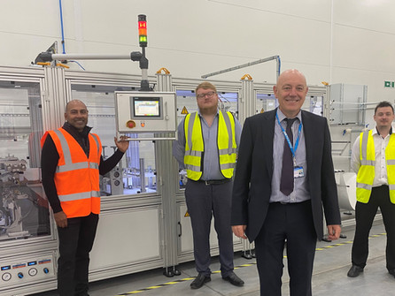 QE Facilities is leading the way, becoming the first NHS body to start to manufacture FFP3 masks in