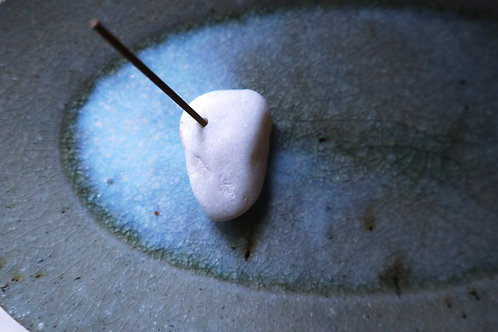 ちょっと大きい雪石のお香立て Lタイプ