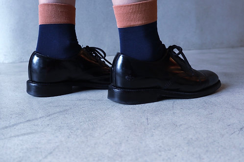 Fot_ socks (terracotta / navy)