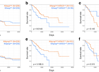 [New paper] Isoform-specific KRAS expression in lung cancer