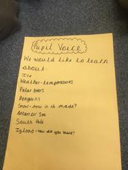 Pupil voice for KS1 children - what we w