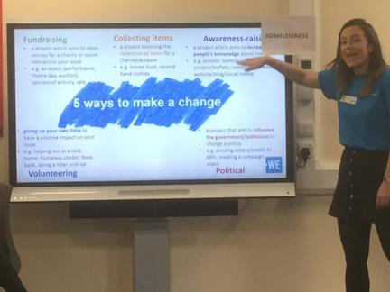 WE Workshop - linked to social action 2.
