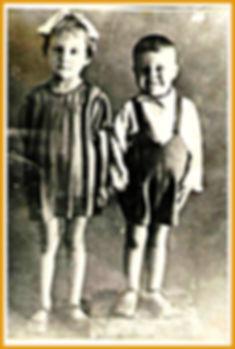 Нелля (1939) и Юра (1941)Перепаловы.Снято