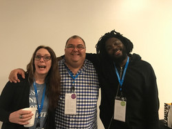 Laurie Halse Anderson and Jason Reynolds