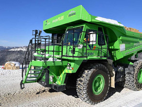 Electrification of Mining Vehicles – An Electric Future