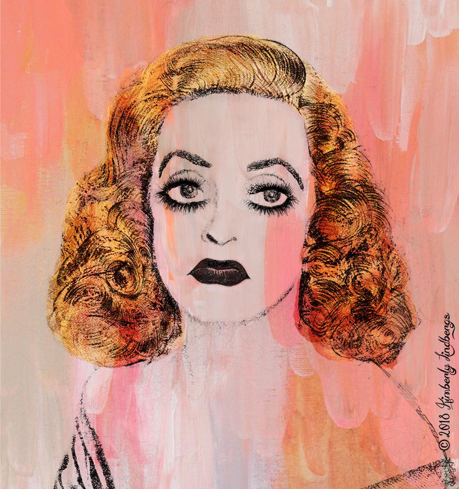 Bette Davis Portrait