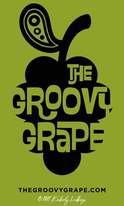 The Groovy Grape Logo