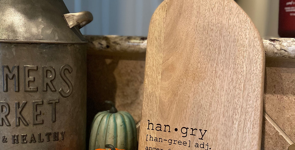 Hangry Serving Board