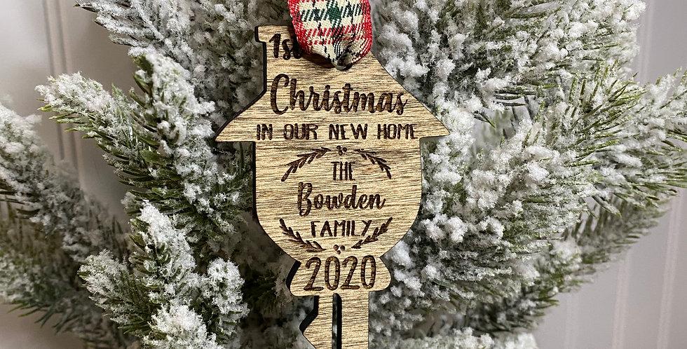 Christmas Key Ornament