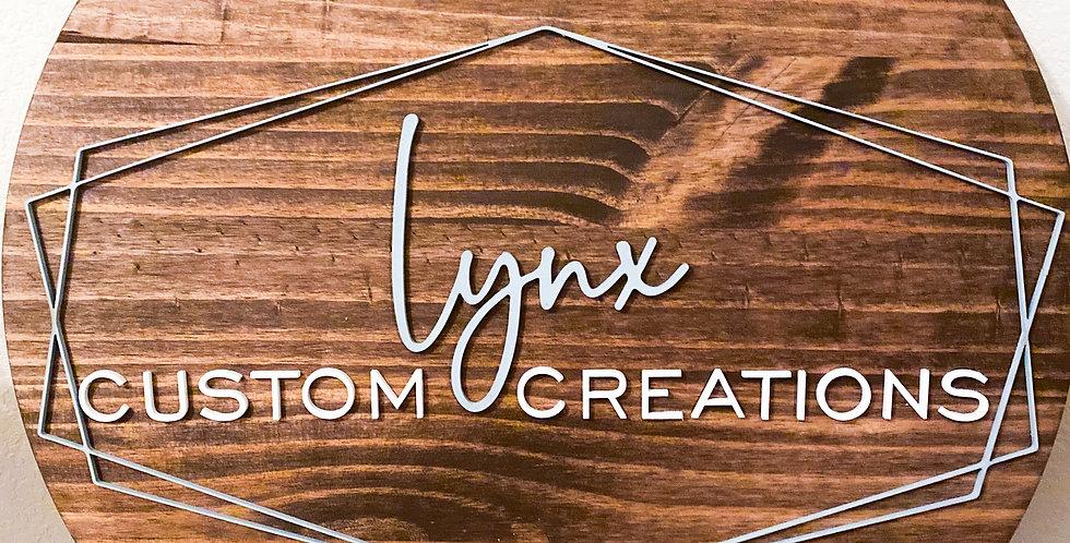"18"" Custom Business Sign"