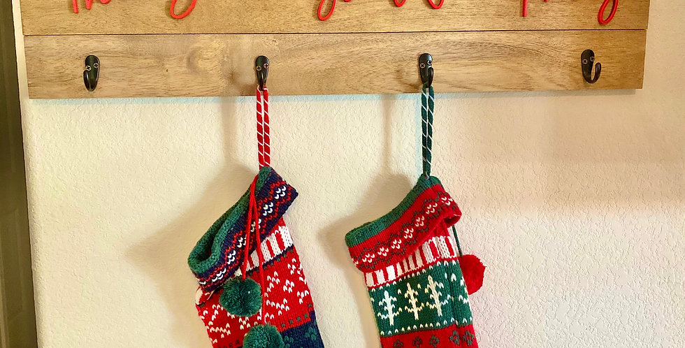 The Stockings Were Hung Sign