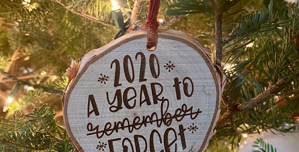 2020 - A Year to Forget Ornament