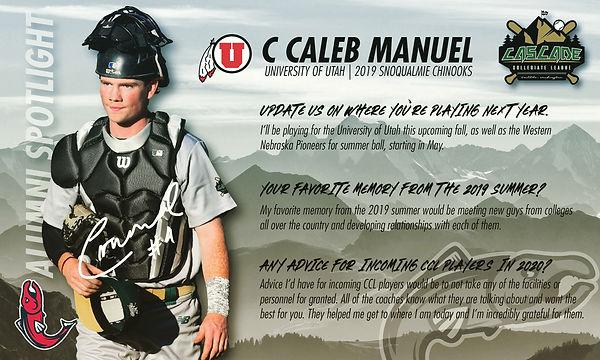 Caleb Manuel Alumni Spotlight