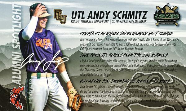 Andy Schmitz Alumni Spotlight