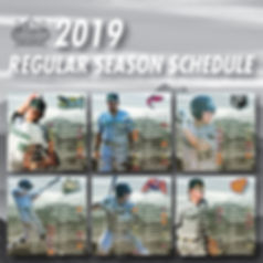 2019 CCL Regular Season Schedule