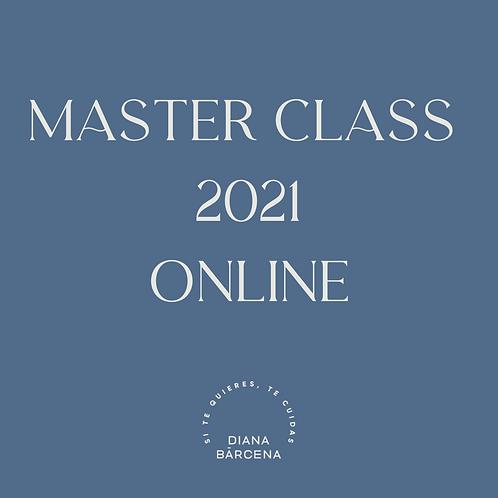 MASTER CLASS 2021 ONLINE