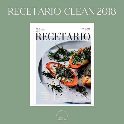 RECETARIO CLEAN
