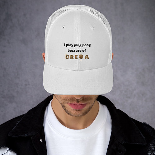 White DREQA Hat