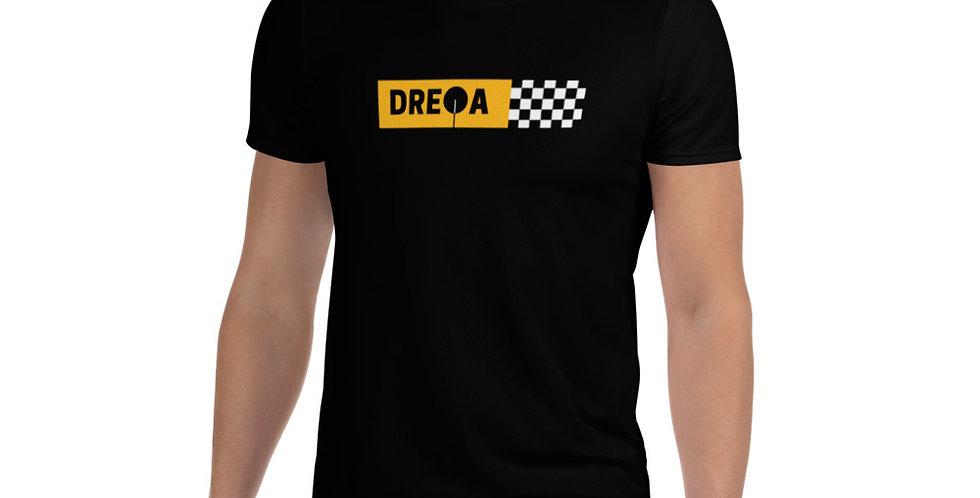 DREQA Black Men Checkerboard Ping Pong Wear