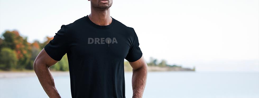 DREQA Logo Black on Black Ping Pong Wear