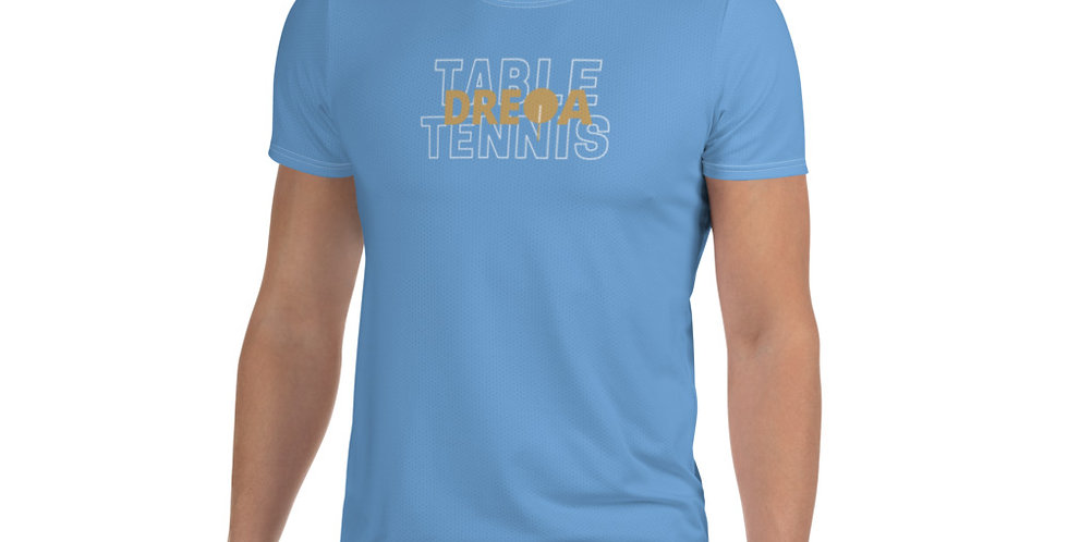 DREQA Standard Men's Table Tennis wear (Light Blue)