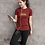 Thumbnail: DREQA Table Tennis Wear Marron Women's Athletic T-Shirt